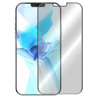 Apsauginis grūdintas stiklas ''5D Full Glue '' Apple iPhone 12 / 12 Pro telefonui