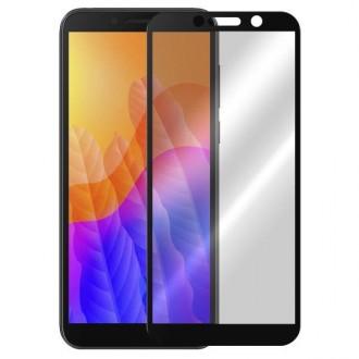 Apsauginis grūdintas stiklas ''5D Full Glue '' Huawei Y5P telefonui