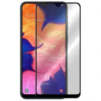 Apsauginis grūdintas stiklas ''5D Full Glue '' Samsung Galaxy A102 A10e telefonui