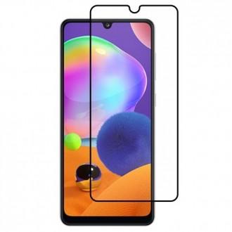 Apsauginis grūdintas stiklas ''9D Full Glue '' Samsung Galaxy A31 telefonui