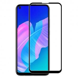 Apsauginis grūdintas stiklas ''9D Full Glue '' Huawei P40 Lite telefonui