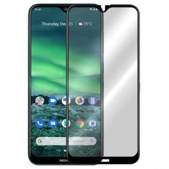 Apsauginis grūdintas stiklas ''9D Full Glue '' Nokia 2.3 telefonui