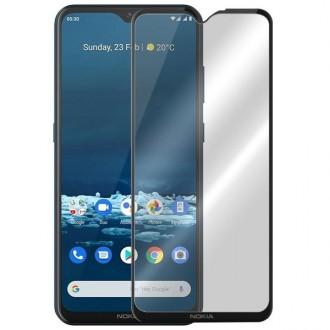 Apsauginis grūdintas stiklas ''9D Full Glue '' Nokia 5.3 telefonui