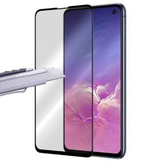 Apsauginis grūdintas stiklas ''9D Full Glue '' Samsung Galaxy G970 S10e telefonui