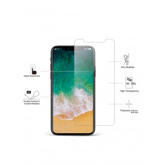 Apsauginis grūdintas stiklas Apple iPhone X / XS / 11 Pro telefonui