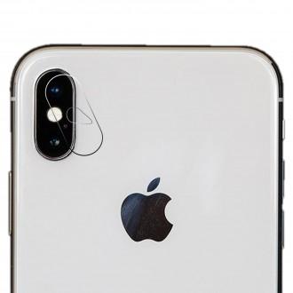 Apsauginis grūdintas stiklas galiniai kamerai Apple Iphone X / XS / XS Max telefonui