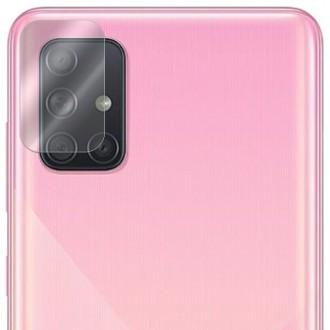 Apsauginis grūdintas stiklas galiniai kamerai Samsung Galaxy A715 A71 telefonui