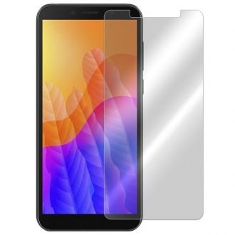 Apsauginis grūdintas stiklas Huawei Y5P telefonui