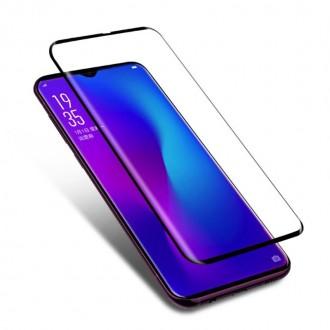Apsauginis grūdintas stiklas 5D Full Glue Nokia 7.1 2018 lenktas juodas