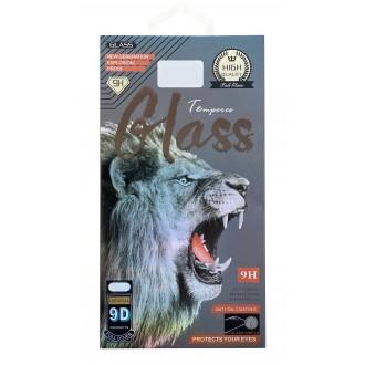 LCD apsauginis stikliukas 9D Full Glue Samsung A02s juodas krašteliais