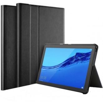 """Juodas, Atverčiamas Dėklas """"Folio Cover"""" Huawei MediaPad T5 10.0"""