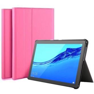 """Rožinis, atverčiamas dėklas """"Folio Cover"""" Huawei MediaPad T5 10.0"""