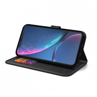 """Telefono Dėklas/Piniginė BeHello Gel Wallet """"Samsung Galaxy S21 PLIUS"""" juodas"""