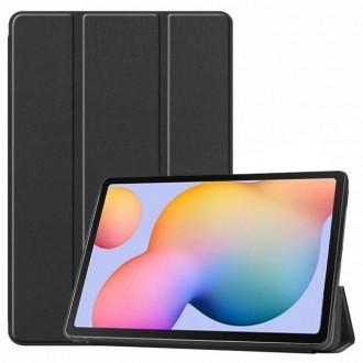 """Juodas atverčiamas dėklas Huawei MediaPad T5 10.0 """"Smart Leather"""""""
