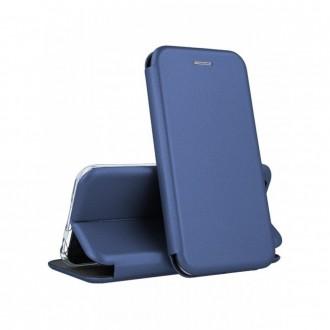 Atverčiamas Dėklas Book Elegance Samsung A72 tamsiai mėlynas