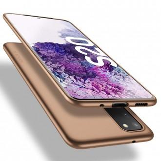 Auksinė spalvos dėklas X-Level Guardian Samsung Galaxy G981 S20 telefonui