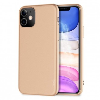 Auksinės spalvos dėklas X-Level Guardian Apple iPhone 11 telefonui