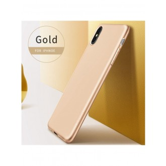 Auksinės spalvos dėklas X-Level Guardian Apple iPhone XS Max telefonui