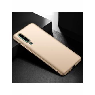 Auksinės spalvos dėklas X-Level Guardian Huawei P30 telefonui