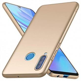 Auksinės spalvos dėklas X-Level Guardian Huawei P40 Lite E / / Y7 P telefonui