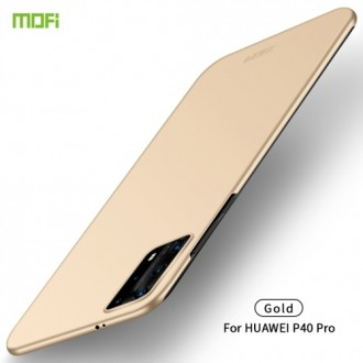 Auksinės spalvos dėklas X-Level Guardian Huawei P40 Pro telefonui