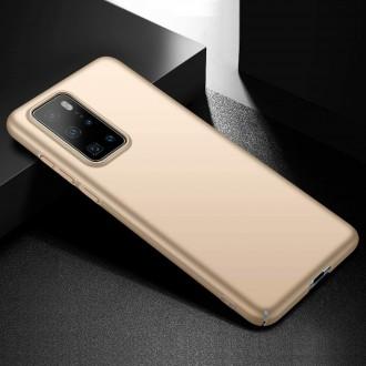 Auksinės spalvos dėklas X-Level Guardian Huawei P40 telefonui