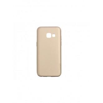 Auksinės spalvos dėklas X-Level Guardian Samsung Galaxy A320 A3 2017 telefonui