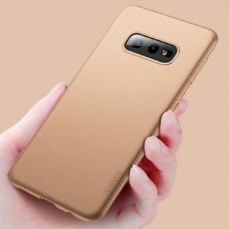 Auksinės spalvos dėklas X-Level Guardian Samsung Galaxy G970 S10e telefonui