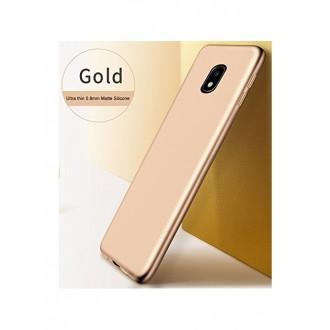 Auksinės spalvos dėklas X-Level Guardian Samsung Galaxy J530 J5 2017 telefonui