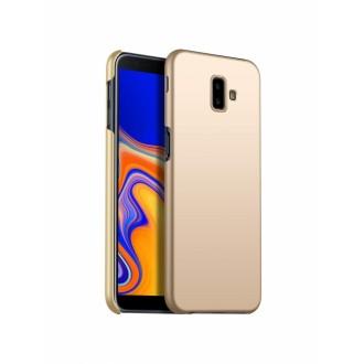 Auksinės spalvos dėklas X-Level Guardian Samsung Galaxy J610 J6 Plus 2018 telefonui