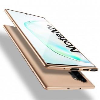 Auksinės spalvos dėklas X-Level Guardian Samsung Galaxy N975 Note 10 Plus telefonui