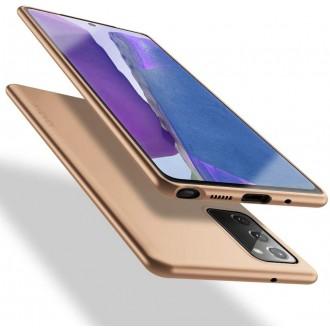 Auksinės spalvos dėklas X-Level Guardian Samsung Galaxy Note 20 telefonui