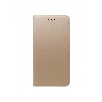 """Auksinis atverčiamas dėklas Nokia 2 telefonui """"Smart Magnet"""""""