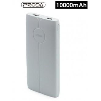 Balta išorinė baterija Power Bank Proda PD-P22 10000mAh