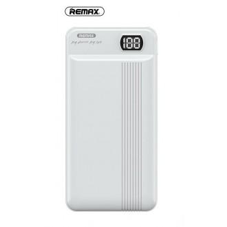 Balta išorinė baterija Power Bank Remax RPP-106 20000mAh