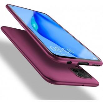 Bordo spalvos dėklas X-Level Guardian Huawei P40 Lite / Nova 6 SE / Nova 7i telefonui