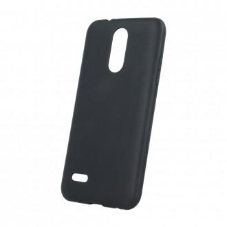 Juodas, matinis silikoninis dėklas, skirtas Samsung A52 5G