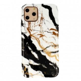 Dėklas Marble Silicone Apple iPhone 12 Pro Max telefonui (Design 3)