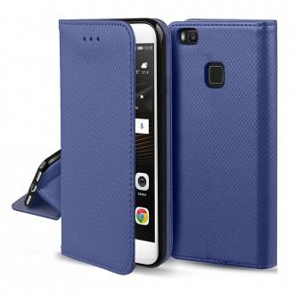 Tamsiai mėlynos spalvos atverčiamas dėklas ''Smart Magnet'' telefonui Samsung S21 / S30