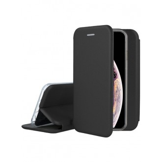 """Dėklas """"Book Elegance"""" Apple iPhone X / XS juodas"""
