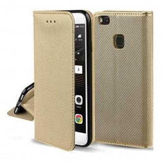 Dėklas Smart Magnet Samsung S21 Plus / S30 Plus auksinis