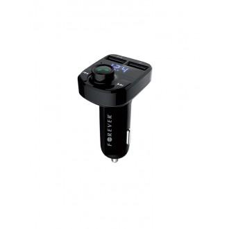 Forever TR-330 Bluetooth MP3 grotuvas / FM bangų moduliatorius (laisvų rankų įranga, microSD, SD, 2xUSB, LCD, 3.1A įkroviklis)