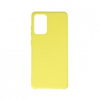 """Geltonas, Silikoninis dėklas, skirtas """"Samsung A32 4G"""""""