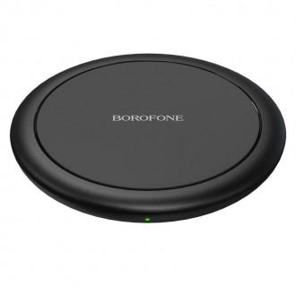 Įkroviklis belaidis Borofone BQ6 QC3.0 (15W) juodas
