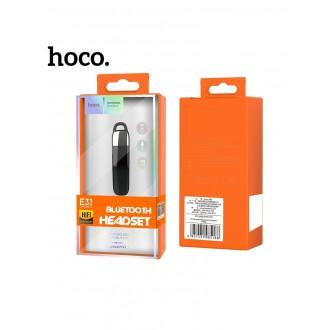Juoda belaidė laisvų rankų įranga HOCO E31