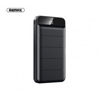 Juoda išorinė baterija Power Bank Remax RPP-139 10000mAh