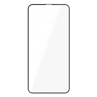 """Juodais apvadais apsauginis stikliukas """"Full Hybrid Glass"""" Apple iPhone X / XS / 11 Pro telefonui"""