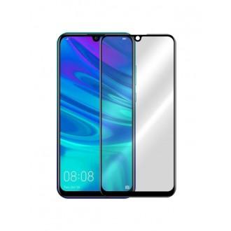 Juodas 3D apsauginis grūdintas stiklas Huawei P Smart 2019 telefonui