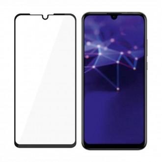 """Juodas 3D apsauginis stikliukas """"3MK Hard Glass"""" Huawei P30 telefonui"""