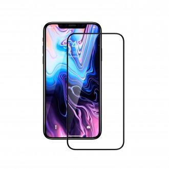 """Juodas apsauginis grūdintas stiklas Apple iPhone XS Max / 11 Pro Max telefonui """"Devia Comma Entire View"""""""